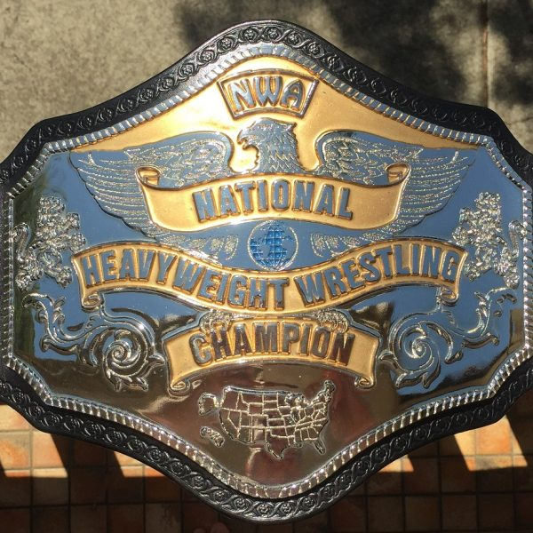 Reggie Parks NWA National Heavyweight Championship