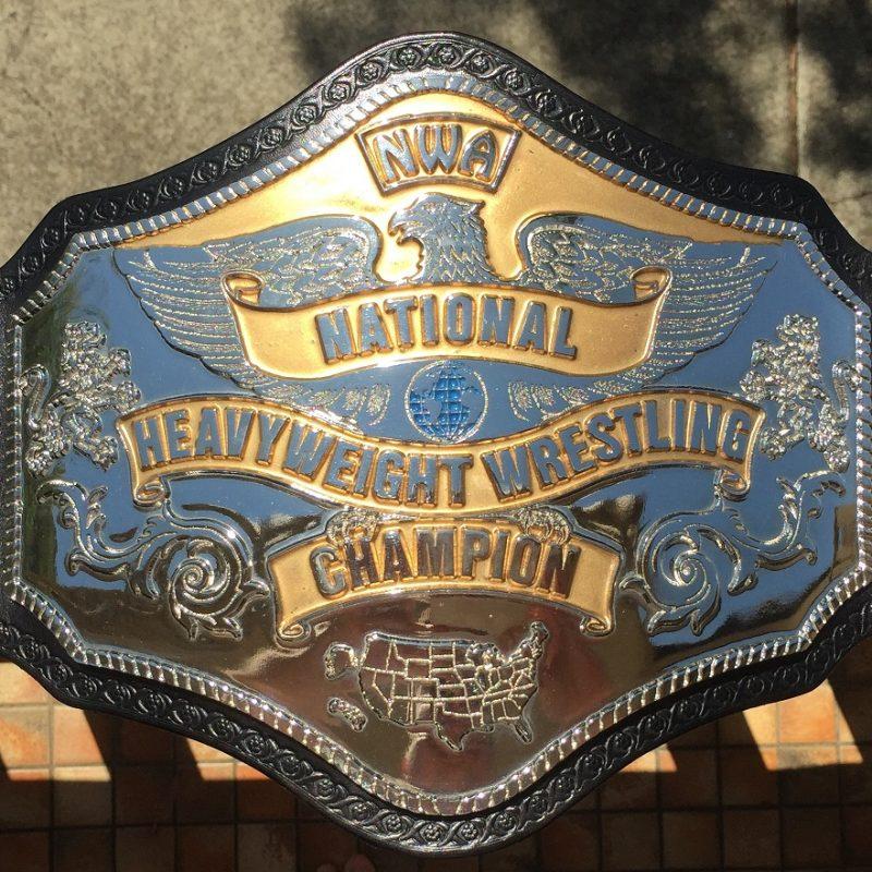 Reggie Parks NWA National Heavyweight Championship