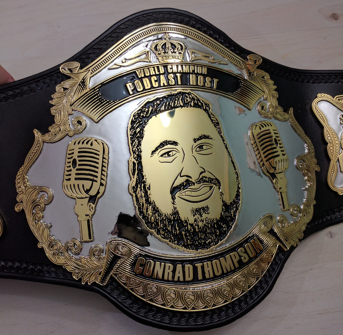 Podcasting World Championship | Belts by Dan