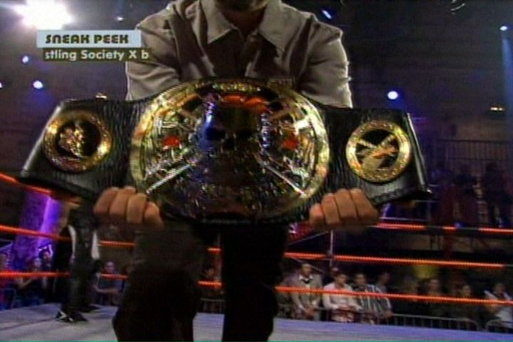 Wrestling Society X Championship